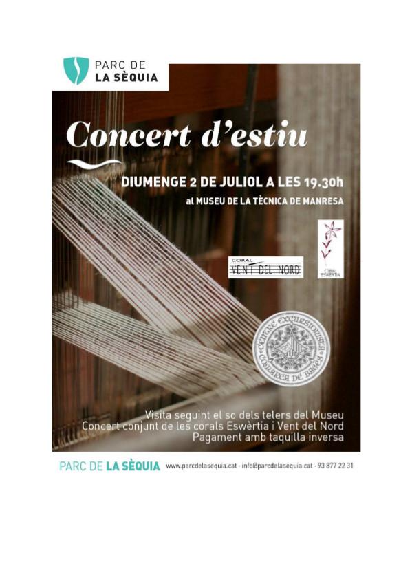 Concert d'Estiu de la Coral Eswèrtia @ Manresa | Catalunya | Espanya