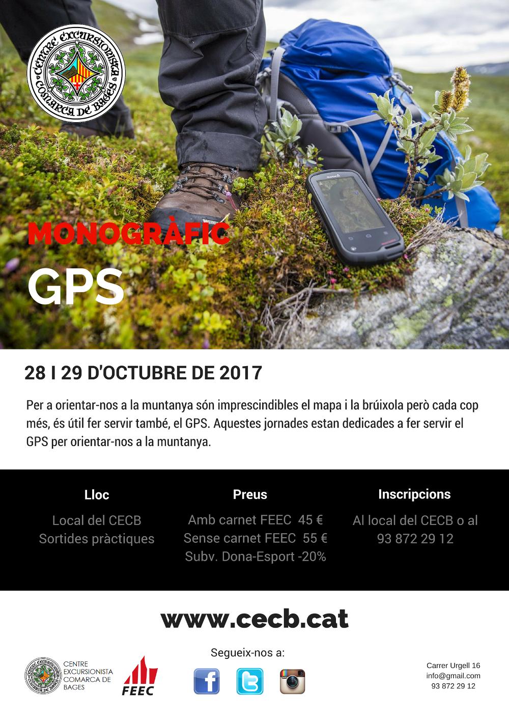 Monogràfic GPS