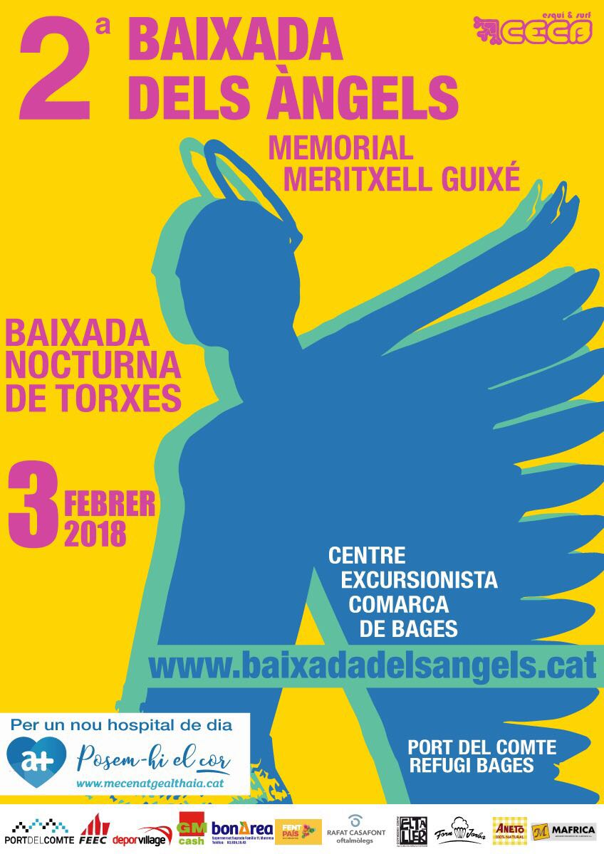 2ª Baixada dels Àngels - Memorial Meritxell Guixé @ La Coma i La Pedra | Cataluña | Espanya