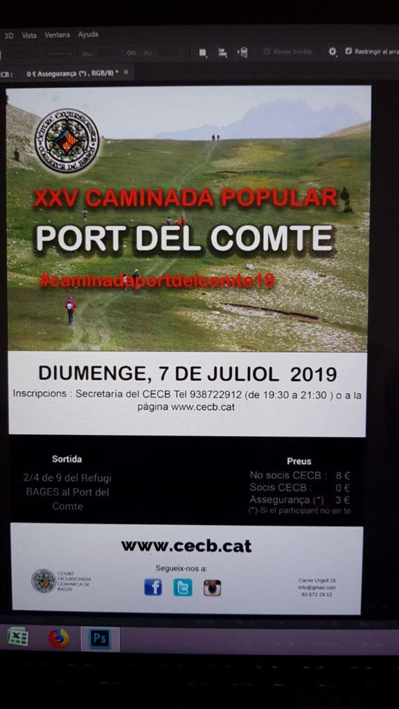 XXV CAMINADA POPULAR PORT DEL COMTE 2019 @ Catalunya | Espanya